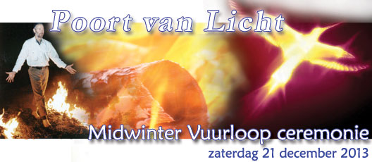 midwinter vuurloop ceremonie