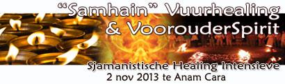 Samhain Vuurhealing en Voorouderspirit