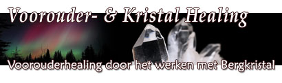 Kristal healing en voorouder healing