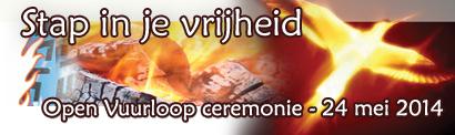 Open vuurloop ceremonie