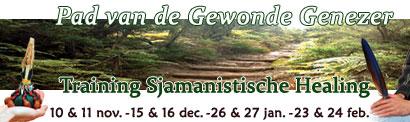 Pad van de Gewonde Genezer - Training Sjamanistische Healing