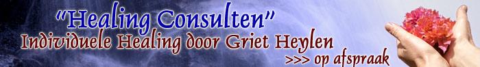individuele healing consulten door Griet Heylen