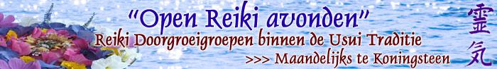 Open Reiki avonden binnen de Usui traditie - door Griet Heylen