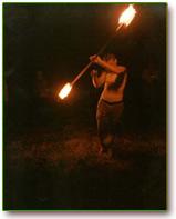 dansen met vuur